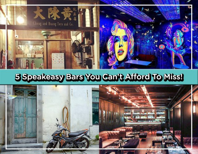 5 Speakeasy Bars For Post-Work Happy Hour Drinks in Klang Valley