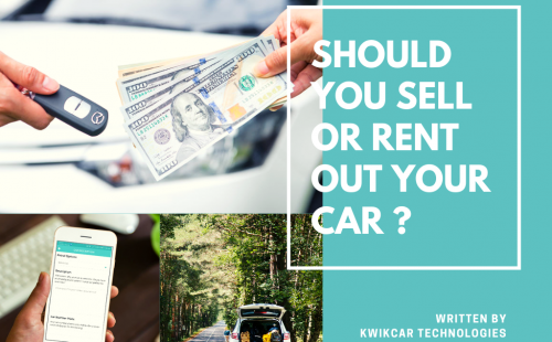 Rent Out Your Car Instead of Selling It